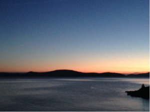 Sunset in Dalmatia